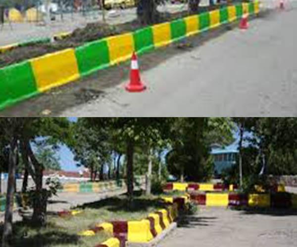 رنگ جدول خیابانی