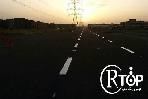 رنگ ترافیک پایه اب