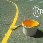 رنگ خط کشی مدارس